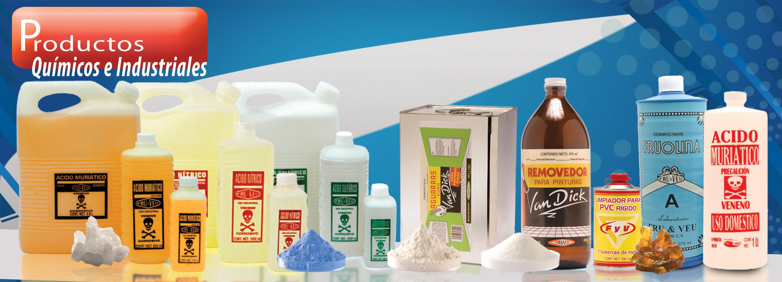 Productos Químicos e Industriales